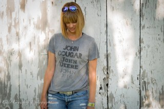 John Cougar John Deere John 3:16 T Shirt, T shirt women, T shirt vintage, T shirt with saying, T shirt gift, gift for her, T shirt