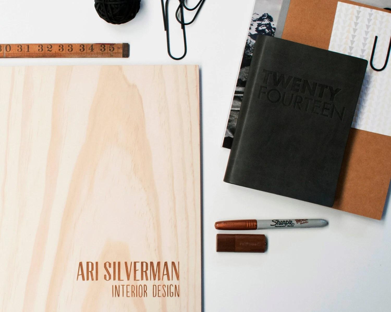 portfolio design custom wood engraved modern student by lorgie