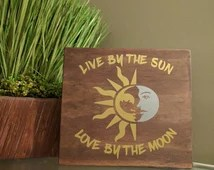 Download Popular items for live by the sun on Etsy