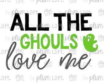 Download Ghouls love me svg   Etsy