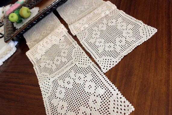 Runners Crochet Star Table Filet