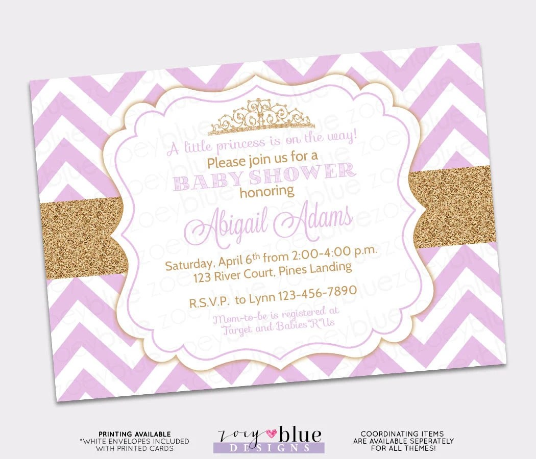 Design And Print Your Own Baby Shower Invitations