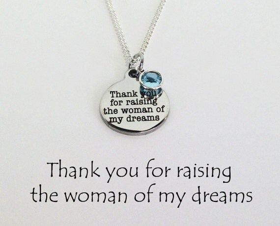 Mother In Law Necklace Mother In Law Gifts By