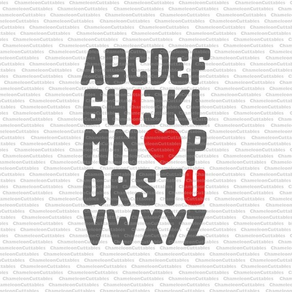 Download abc I love you svg valentines day valentine love shirt