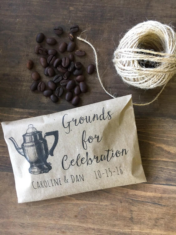 Coffee Wedding Favors