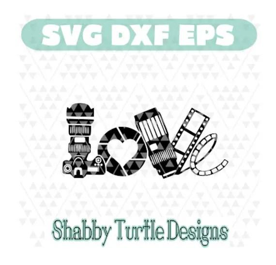 Download Camera Love SVG DXF EPS
