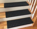 3 Colors - TRUE Bullnose™ Carpet Stair Tread – Grand Central - Beaulieu - Scotchgard - Pet - Odor Eliminator- Magic Fresh® - (Sold Each)