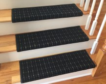 3 Colors - TRUE Bullnose™ Carpet Stair Tread – Grand Central - Beaulieu - Scotchgard - Pet Dog Cat- Odor Eliminator- Magic Fresh (Sold Each)