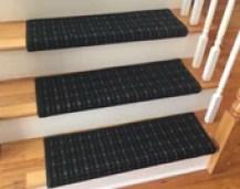 3 Colors - Carpet Stair Tread – Grand Central - Beaulieu - Scotchgard - Pet Dog Cat- Odor Eliminator- Magic Fresh (Sold Each)