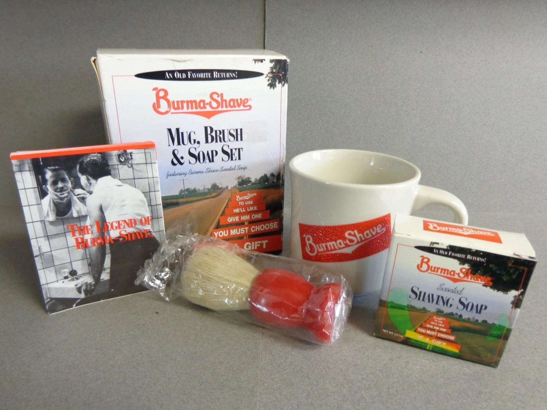 Shaving Mug And Brush Kit