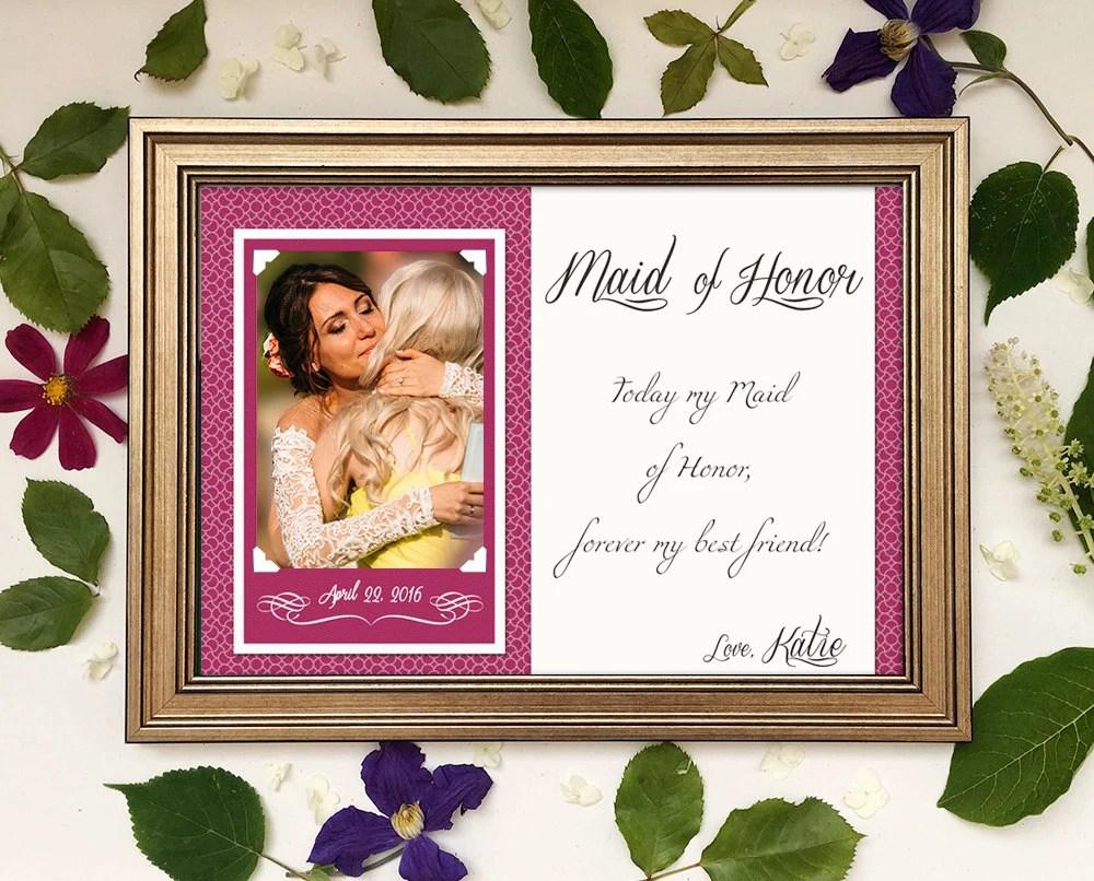 Maid Of Honor Gift Matron Of Honor Gift Bridesmaid Gift