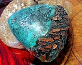 Copper and Teal Polymer C...