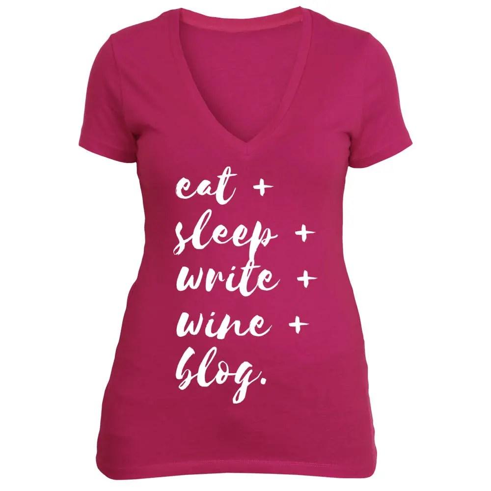 Blogger T-Shirt | Eat Sle...