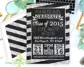 Chalkboard Graduation Par...