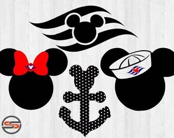 Disney Cruise Svg Etsy