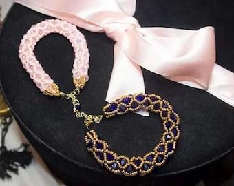 Netted Bracelet Etsy