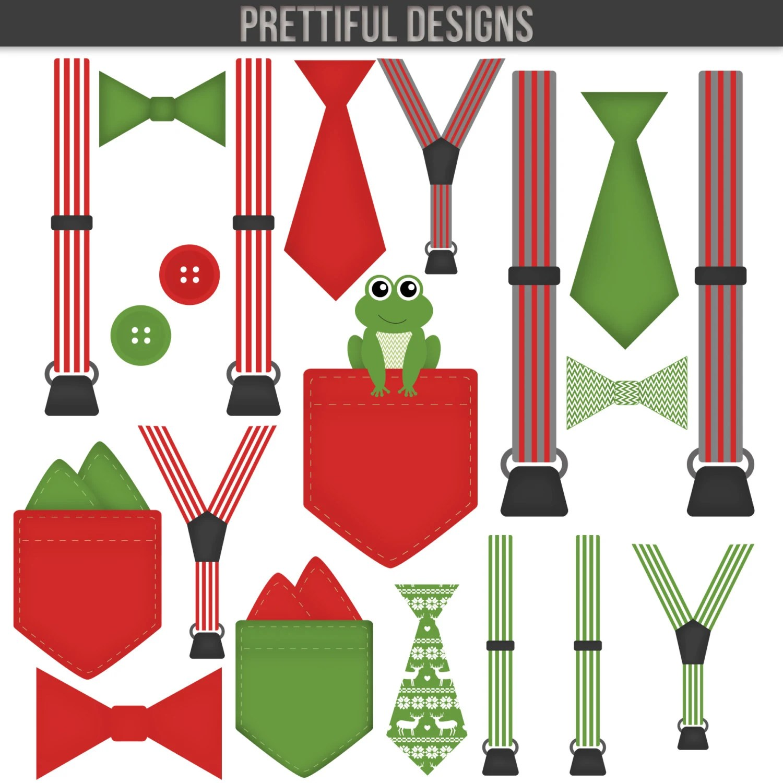 Christmas Clip Art Bow Tie