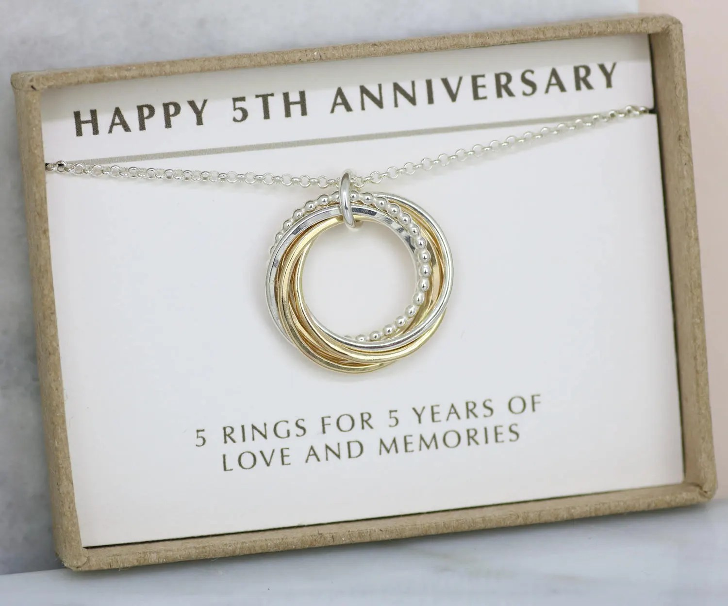 5th Anniversary Gift For Wife 5 Year Anniversary Gift Wife
