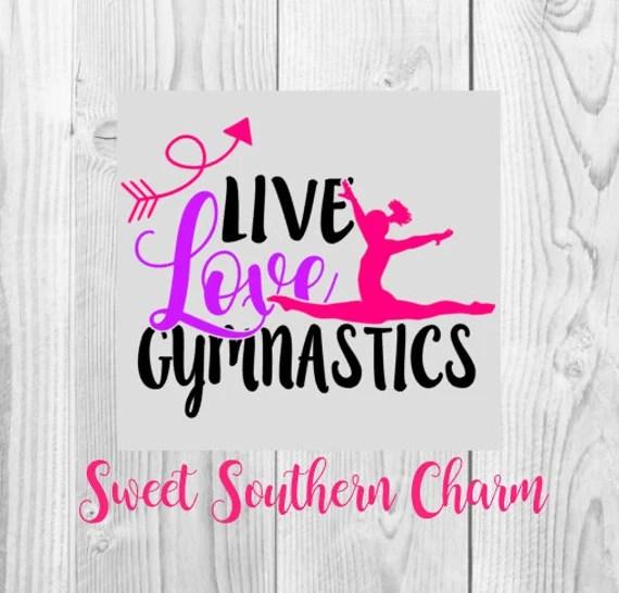 Download SVG File - svg files - Gymnastics svg - tumbling svg ...