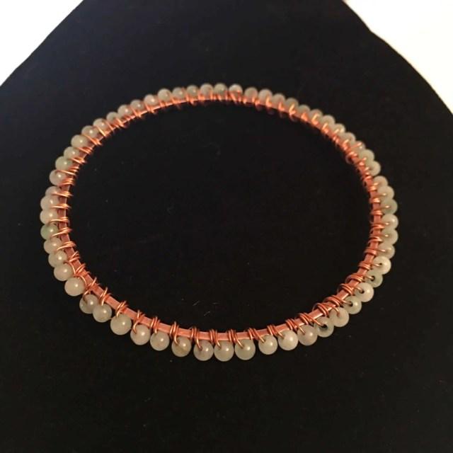 Bangle | Copper | Wire wr...