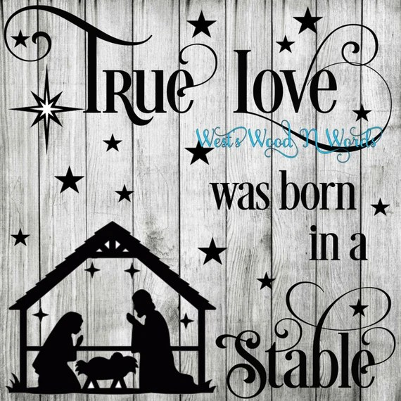 Download True Love Was Born In A Stable