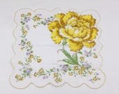 Vintage handkerchief with...