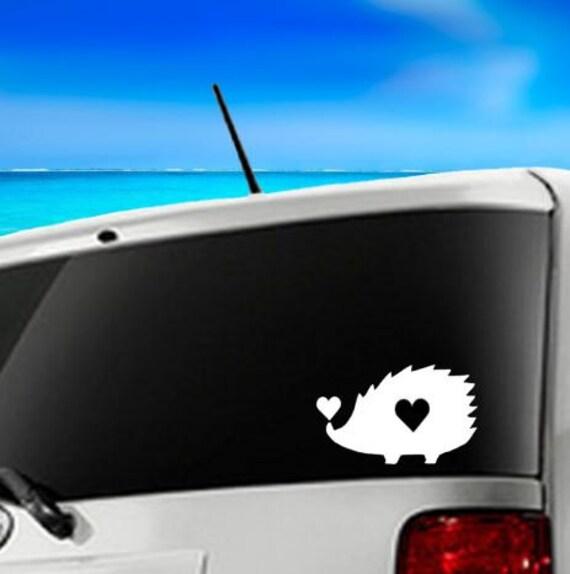 Decal Car Hedgehog Shadow