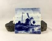 Vintage Delfts Blauw Tile...