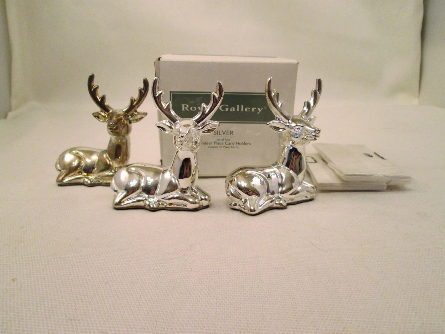 Reindeer Place Cards Etsy