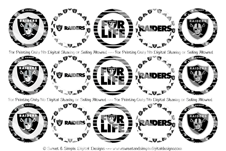 Oakland Raiders Bottle Cap Images
