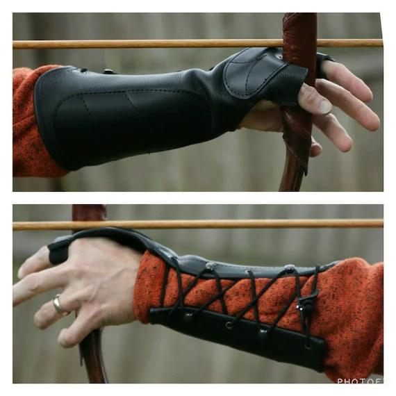 Custom Leather Archery Arm Guard