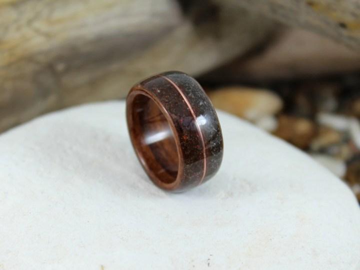 Wood Ring with Dinosaur B...