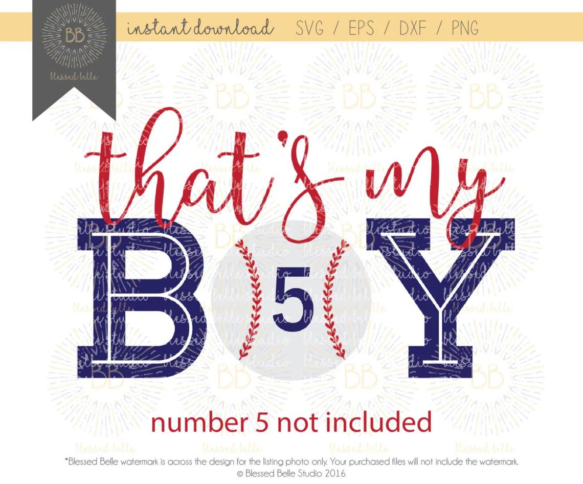 Download That's my boy svg Baseball Mom SVG baseball svg svg