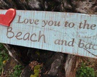 Download The Beach Is My Happy Place Beach Cottage Sign Handmade With
