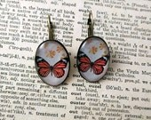 Monarch Butterfly earring...
