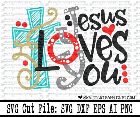 Download Christmas svg JOY Jesus loves You svg Christmas svg Santa