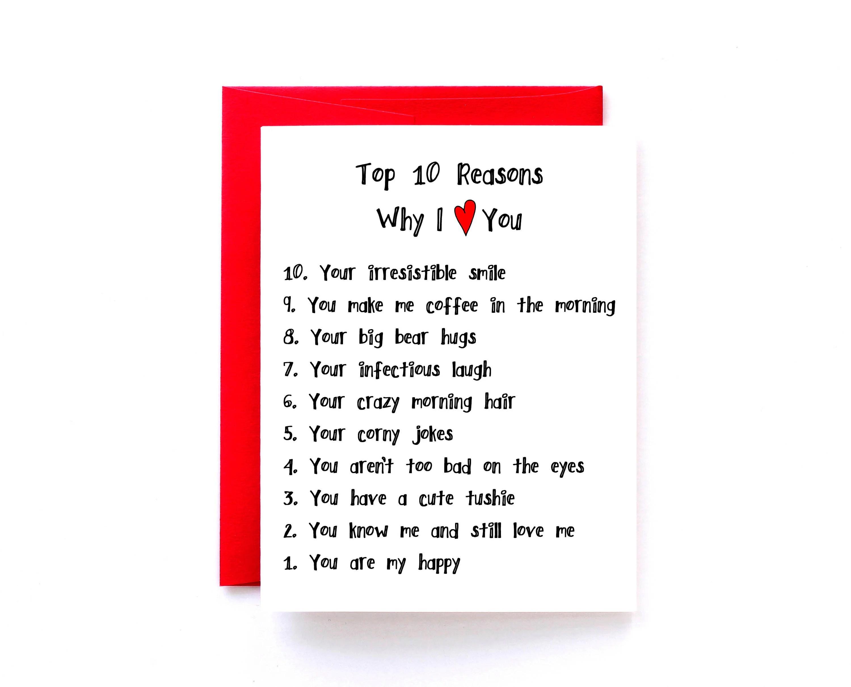 Reasons I Love You