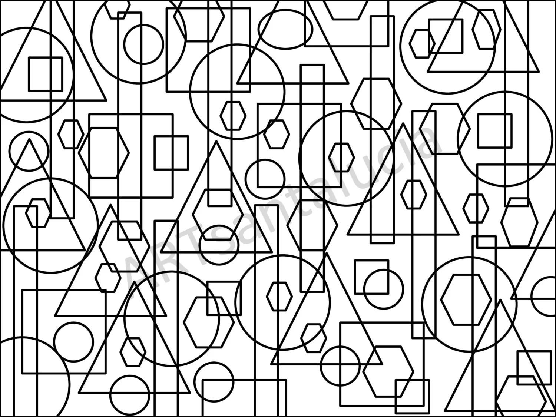 Boundaries Coloring Page