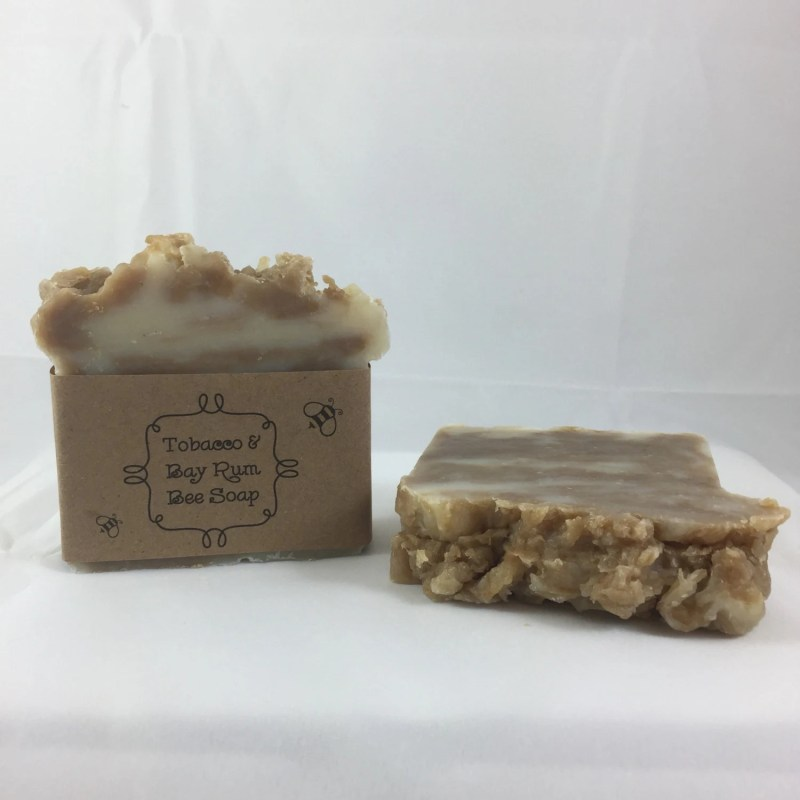 Tobacco and Bay Rum Soap...