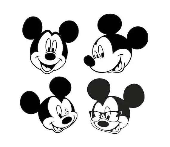 Download Mickey Mouse svg Disney svg cartoon svg disneyland dxf
