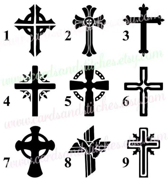 Cross Stencils Painting