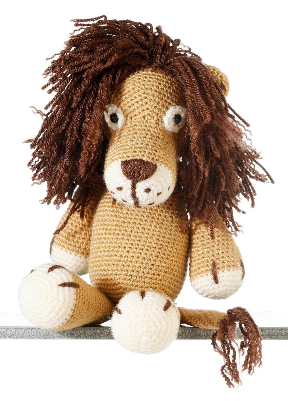 Leo the Lion, Crochet Lio...