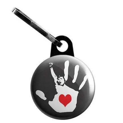Heart in Hand Protest Zip...