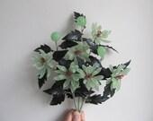Peking glass flower spray...