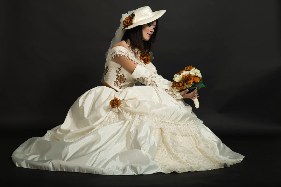 Steampunk Wedding Dresses And Bridal Hats