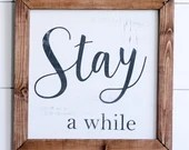 Stay A While Farmhouse St...