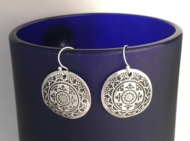 CUSTOM Dangle Earrings wi...