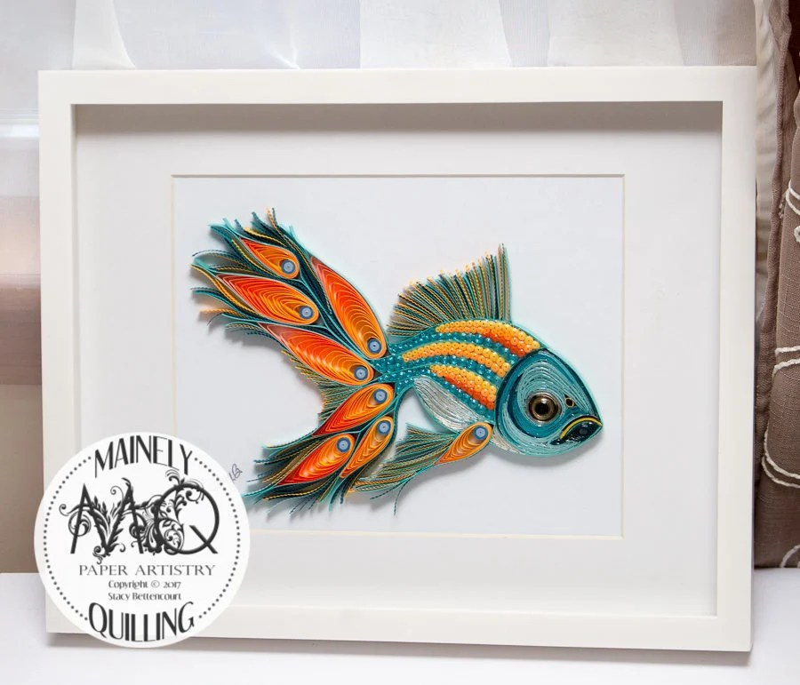 Quilled Paper Art | Pea-F...