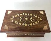 Carved Wooden Box Made in...