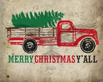Image result for Merry Christmas With Old Pickup